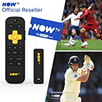 NOW TV Smart Stick with HD & Voice Search with 1 Month Sky Sports Pass