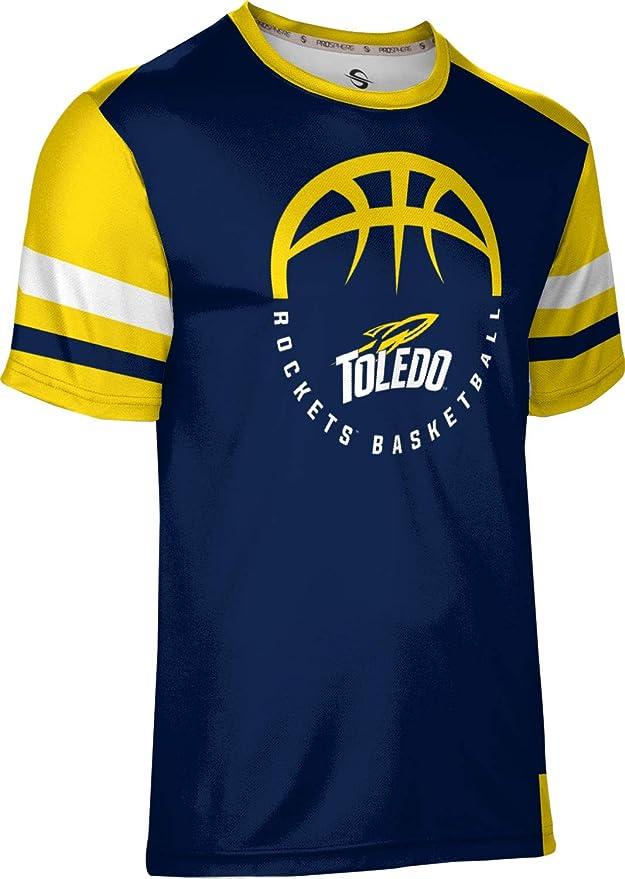 Old School ProSphere The University of Toledo Basketball Mens Performance T-Shirt