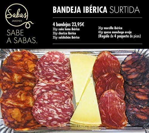 OFERTA 2019 4 BANDEJA IBÉRICA SURTIDA: Amazon.es: Alimentación y ...
