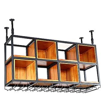 Feng Lian Individualite Suspendue Plafond Bois Massif Casier