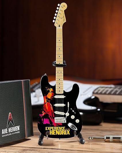 Hacha HEAVEN Jimi Hendrix experiencia Tour guitarra en miniatura ...
