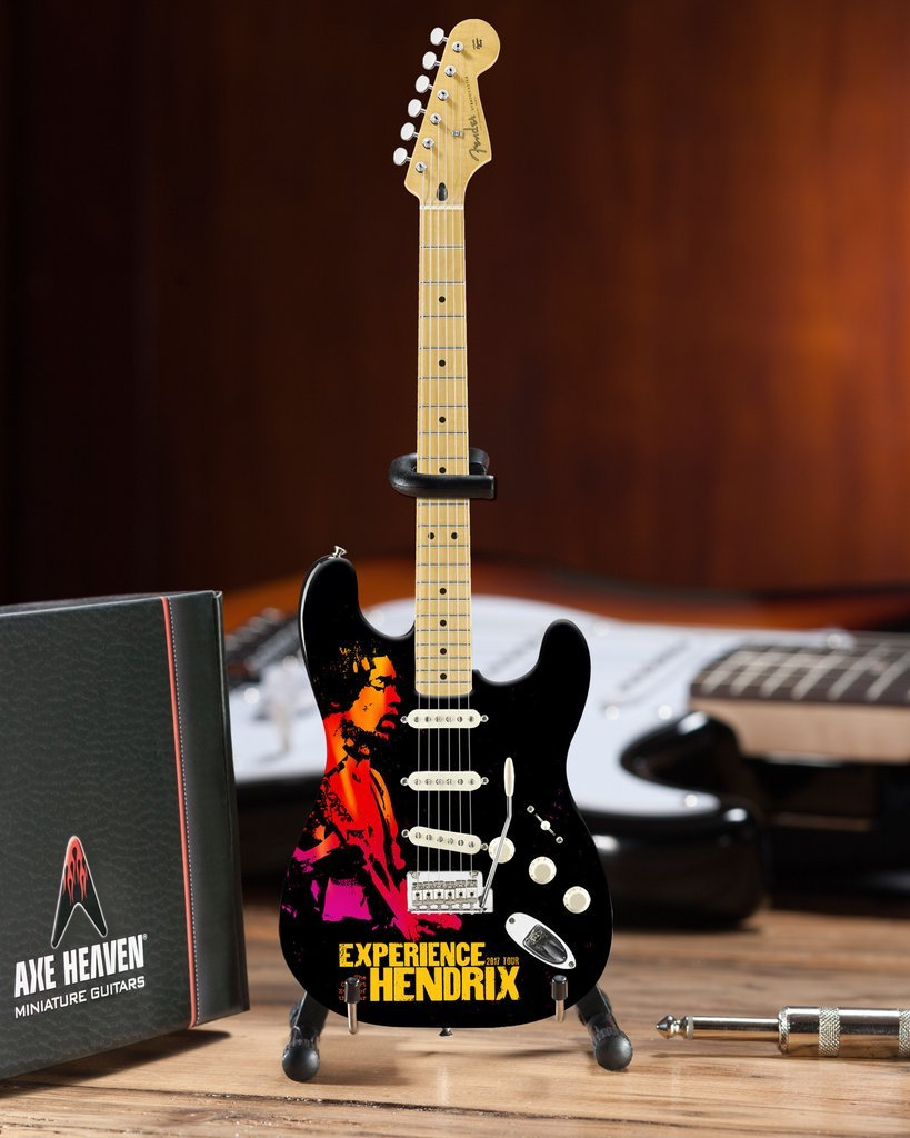 Axe Heaven Jimi Hendrix Experience Tour Miniature Guitar from Limited Edition of 500