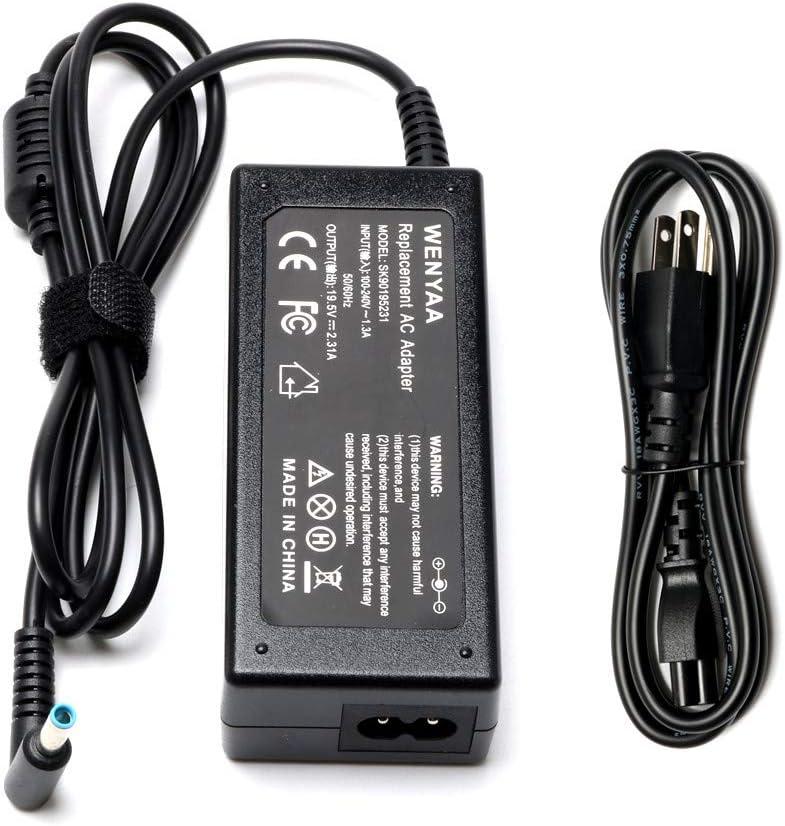 45W 19.5V 2.31A Adapter Charger for HP Stream 11 13 14 Series ;fit 719309-001 719309-003 721092-001 741727-001 740015-001 740015-003 HSTNN-DA40 HSTNN-LA40 HSTNN-CA40 ADP-45WD B ADP-45FE B Power Cord