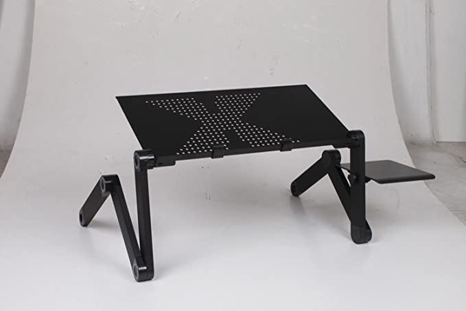 KHSKX Elevación elegante mesa abatible portátil de mesa, cama ...