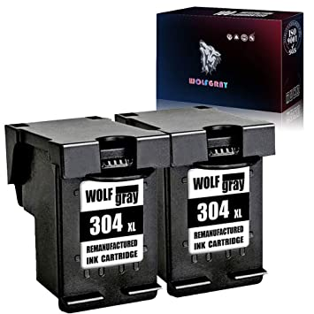 Wolfgray 304XL Remanufacturado para HP 304 XL 304 Cartuchos de ...