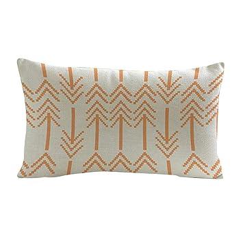 dragonaur Retro manta funda de almohada de sofá funda para cojín funda de almohada de decoración para el hogar, Lino, 9#, Medium