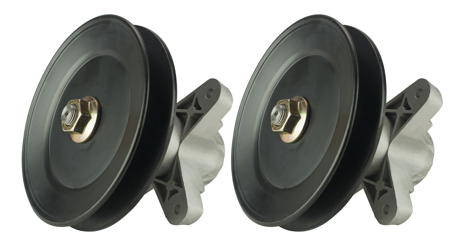 Erie Tools Two (2) Pack Spindle Assembly Fits Cub Cadet LT1042 MTD 918-04456, 918-04456A, 918-04456B, 918-04461, 618-04456, 618-04456A