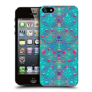 Head Case Blue Chameleon Skin Patterns Back Case For Apple iPhone 5 5s