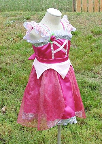 Girls 5-6 Sleeping Beauty Dress up apron by