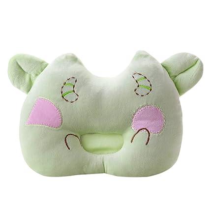 Bebé recién nacido infantil suave de bebé saco de dormir Apoyo Almohada Prevenir Cabeza Flathead (