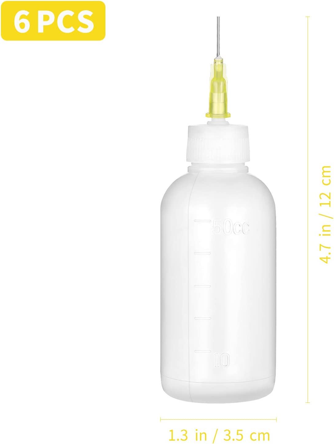 /Öler Flasche Artibetter Pr/äzisionskleber Applikator Flasche Ultra feine Nadelspitze Kleber Applikator Squeeze Flaschen f/ür DIY Quilling Acrylfarbe Kunst Hobby