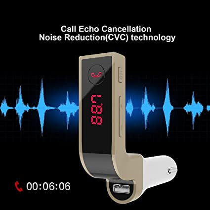 G7 Bluetooth Car Kit Handsfree FM Transmitter Radio MP3 Player USB Charger lot /&