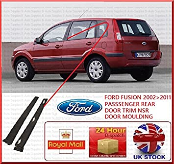 Ford Fusion 2001-2013 NSR Passenger Side Rear Door Trim Panel Plastic Moulding