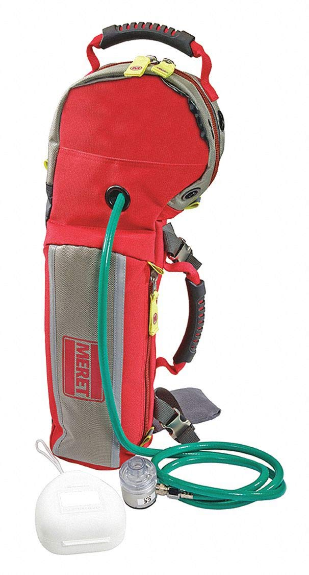 Oxygen Response Bag, 22-1/2'' H, Red by MERET PRODUCTS (Image #1)