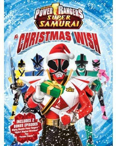 Amazon.com: Power Rangers Super Samurai: A Christmas Wish ...