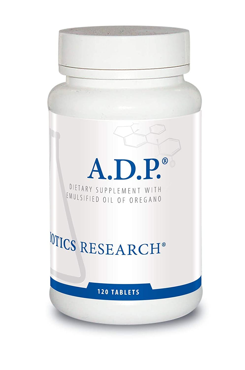 Biotics Research A.D.P. – Highly Concentrated Oil of Oregano, Optimal Absorption and Delivery. Antioxidant, Supports Microbial Balance