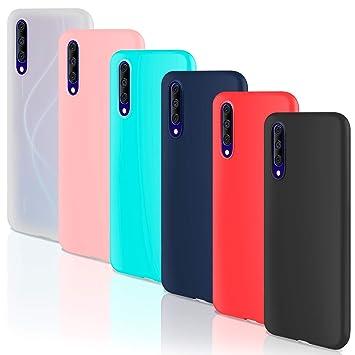 Leathlux 6 x Funda Xiaomi Mi Note 10, 6 Unidades Carcasas Juntas ...