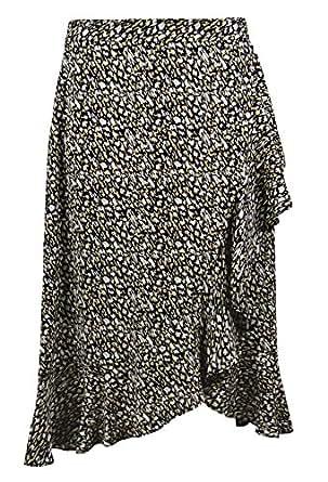 Banana Republic Women's Print Tulip Hem Ruffle Midi Skirt