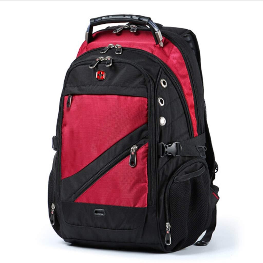 C KKCD Men Laptop Bag External USB Charge Computer Backpacks Anti-theft Men Waterproof Bags Women Backpack With Lock Raincover (color   C)