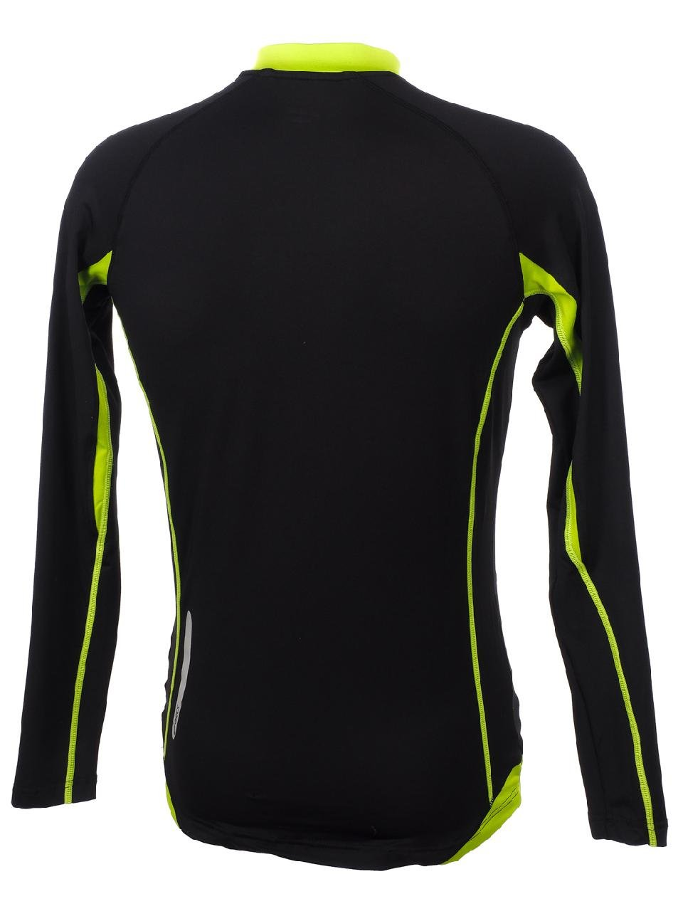 ASICS Running Man Jersey Athletics BEN black fluorescent green T233Z6