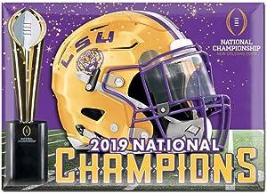 WinCraft LSU Tigers 2019-2020 CFP National Champions Refrigerator Magnet