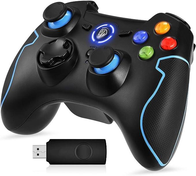 EasySMX Mando para PC, [Regalos Originales] Mando Inalámbrico PS3 ...