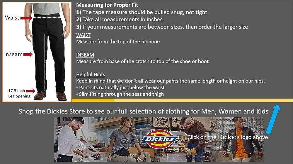 7f005b7dac174e Dickies Men's Straight Work Slim Trousers: Dickies: Amazon.co.uk: Clothing