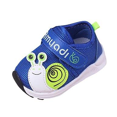YanHoo Zapatos para niños Malla Infantil para niños Calzado Deportivo para niños Niños pequeños Deportes para