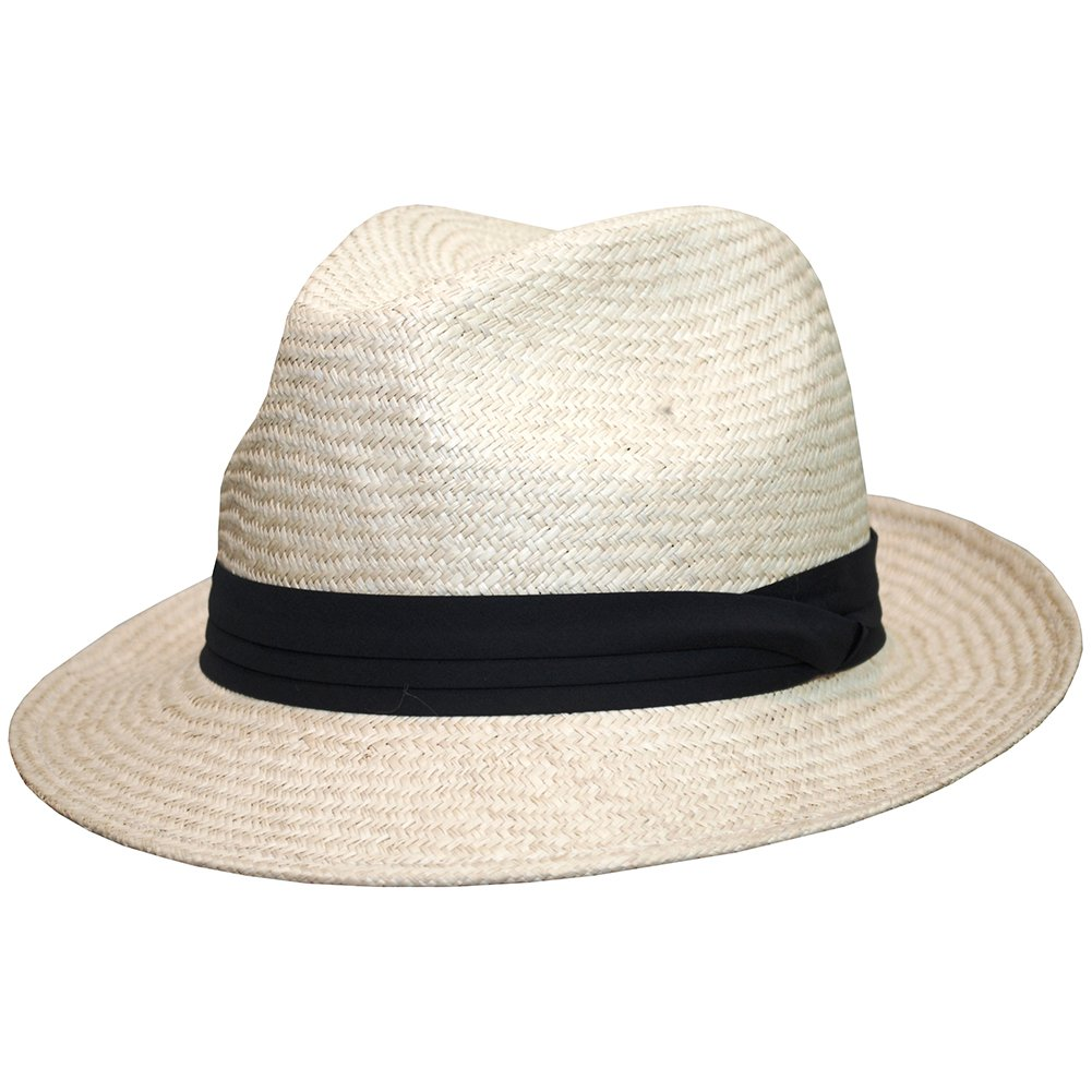 Barmah Hats Trilby Manila Palm Fedora Hat - 652428NA at Amazon Men s  Clothing store  b66527be80c