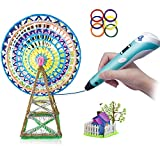 3D Doodler Pen Set Kit – 3D Printing That Fits In Your Hand – Safe and Educational For Kids, Adults And Grown Ups – Easy To Use – Comes With Everything You Need In One Great Value Pack