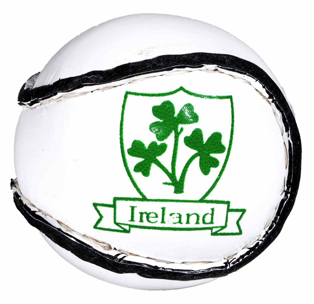 3c234d0a2cea2 Amazon.com : Carrolls Irish Gifts Ireland Sliothar Traditional Hurling Ball  White : Sports & Outdoors