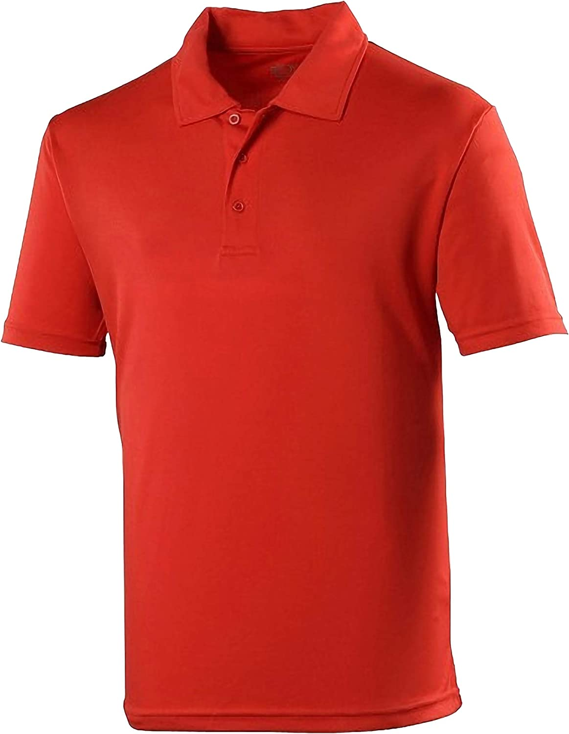 JUST COOL Kinder Unisex Sport Polo Shirt