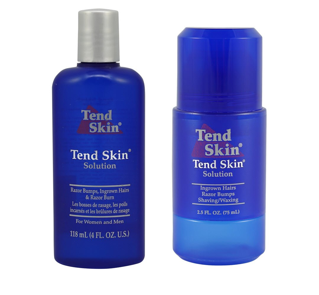 Tend Skin Razor Burn and Ingrown Hair Kit-Tend skin 4ounce+ Roll on 2.5 ounce