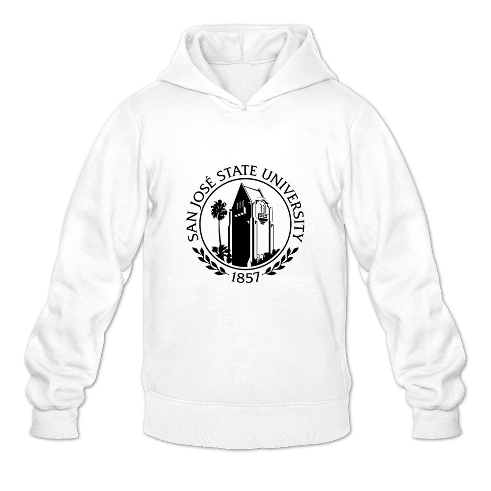 San Jose State University Seal.SVG Crazy 100/% Cotton Long Sleeve Hoodie for Mens