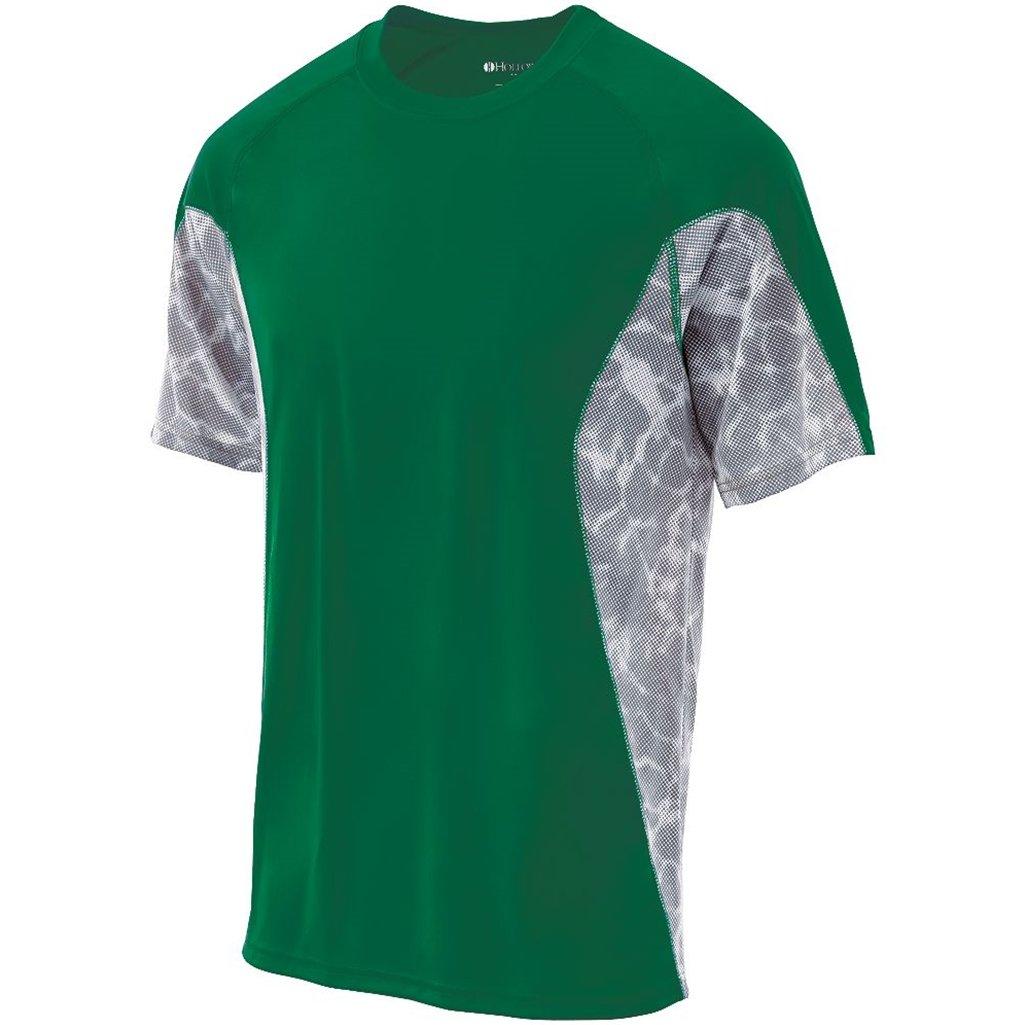 新作人気 Holloway Youth Youth dry Tidalシャツセミフィット Holloway XL Kelly/White Print Print B016628S22, ルクス:5c0b7a8d --- berkultura.ru