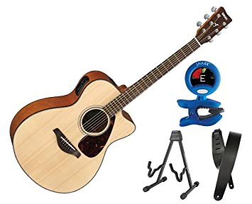 Yamaha fsx800 C acústica guitarra eléctrica pequeño cuerpo sólido ...