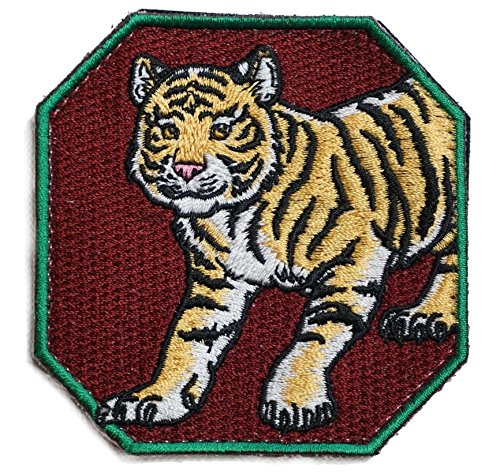 ([Japan Import] 100% Embroidery Verclo Patches Japan Tora Tiger A0237)