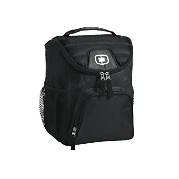 Amazon.com : Ogio 2015 Chill 6-12 Can Cooler, Black : Sports ...