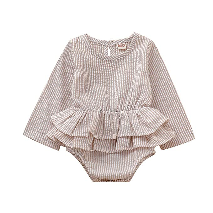 Amazon.com: Tomppy - Mono de manga larga para bebé y niña ...