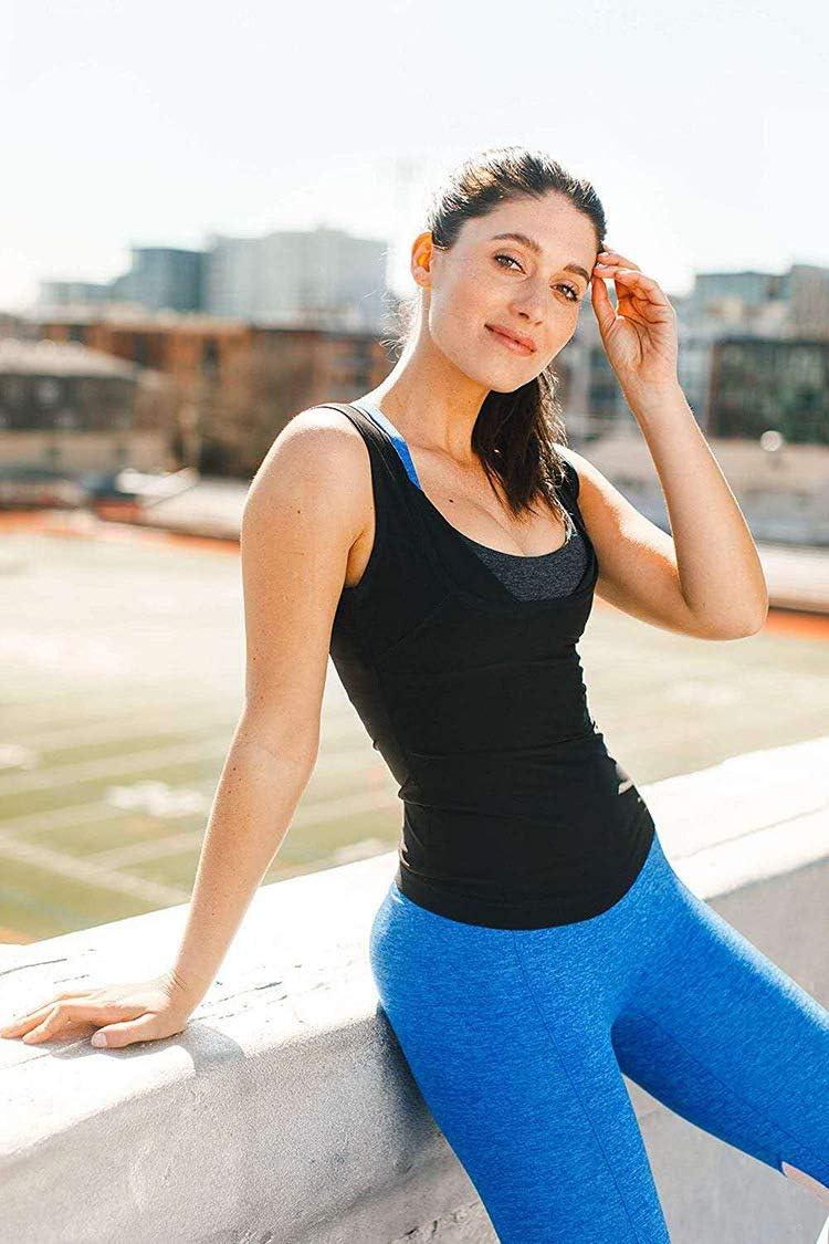 ZEALOVE Womens Sauna Sweat Vest Hot Polymer,Premium Workout Tank Top Slimming Polymer Weight Loss Sauna Vest