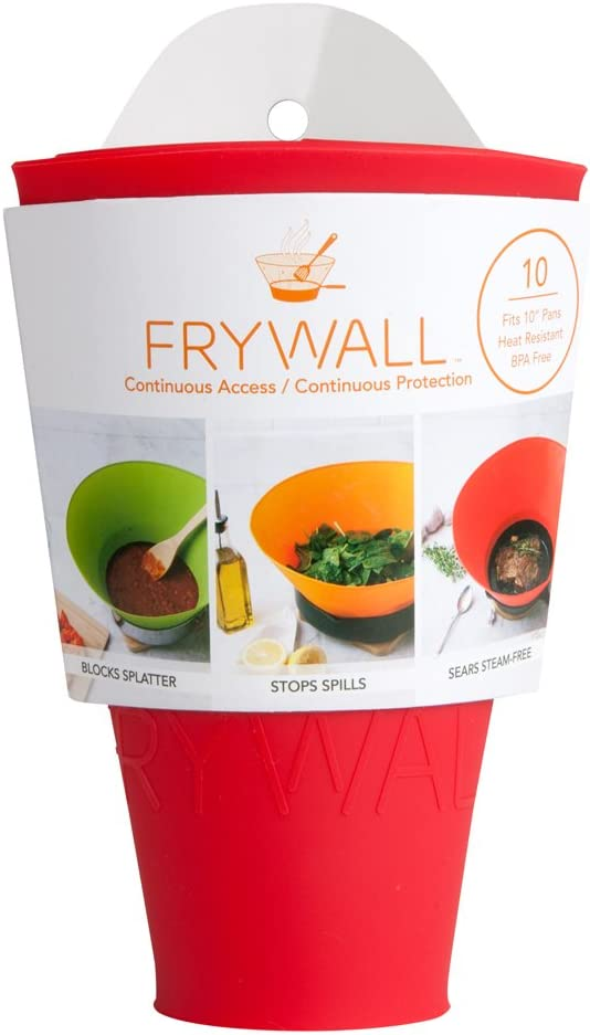 Frywall 10 (Medium) – Red – Splatter Guard