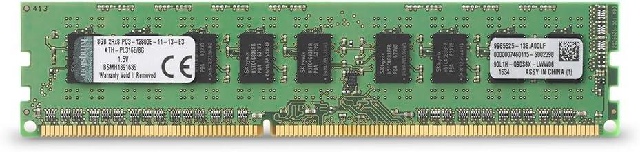 Kingston Technology 8GB DDR3 1600MHz PC3-12800 ECC DIMM Memory for Select HP/Compaq Desktops KTH-PL316E/8G