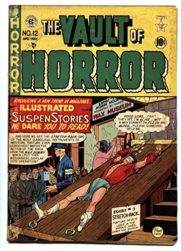 VAULT OF HORROR #12 First issue 1950 PRE CODE HORROR-INGLES-KAMEN-DAVIS-CRAIG-EC