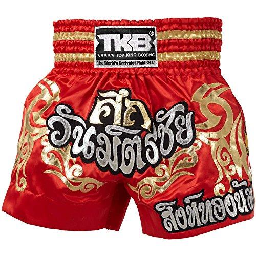 TOP KING MUAY THAI KICKBOXING SHORTS TKTBS-070