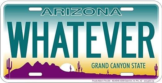 Signs 4 Fun SL98 I Love My Attitude License Plate