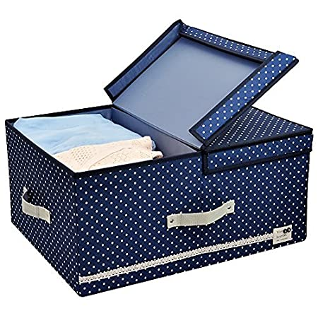 Iwill Createpro Clothes Storage Box With Over Sized Space, High Quality  Polyster Fabric Clothing