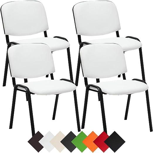 Besucherstuhl KEN mit Lehne Konferenzstuhl Warteraumstuhl Stuhl Stapelstuhl