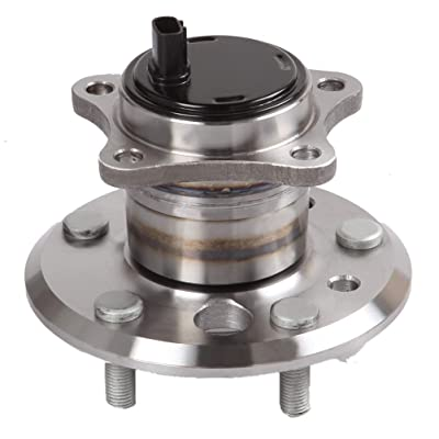 ANPART Replaces 512206 Rear Left W/ABS 5 Lugs Wheel Axle Bearing and Hub Assembly 2001-2012 Ford Escape 1993-1997 Ford Probe 2006-2013 Hyundai Azera Wheel Hub and Bearing Kit(1 PCS): Automotive