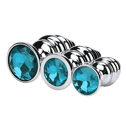 Size Round Shaped Jewelry Aluminum Alloy A N A L B U T T P L U G S Temptation Toys Llguz
