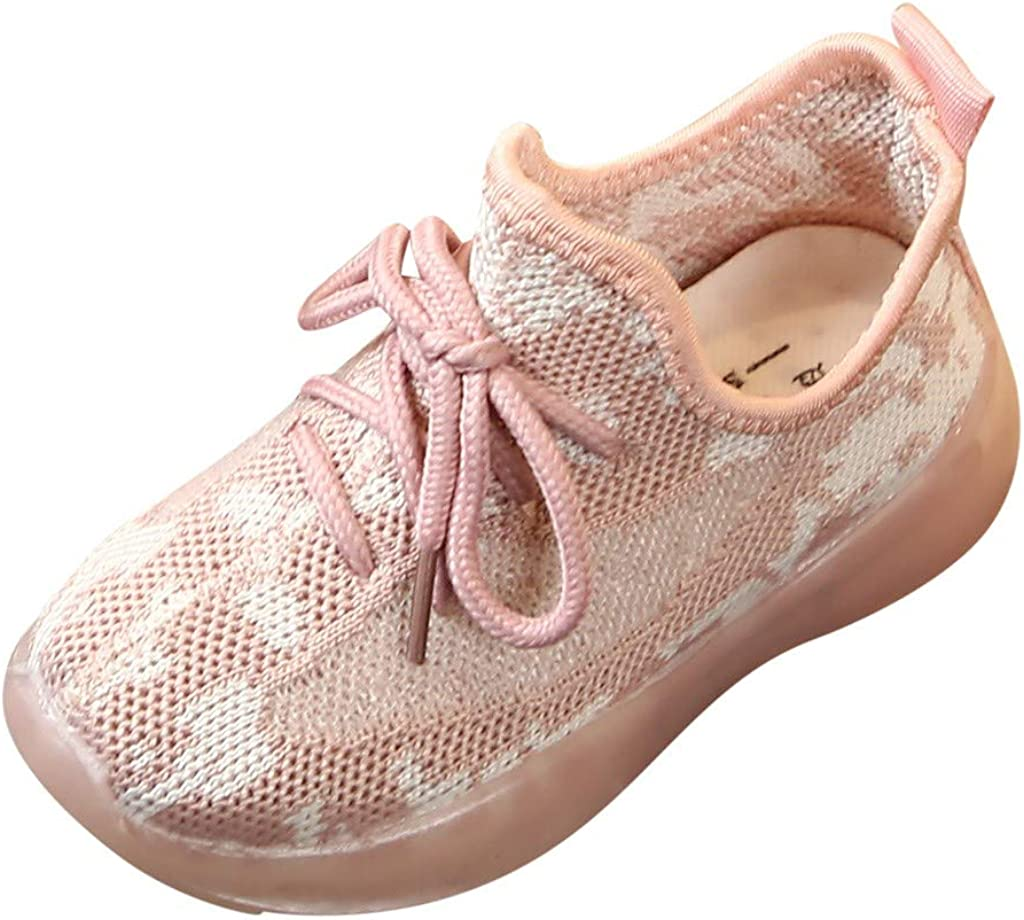 MIS1950s Infant Kids Baby Girls Boys Breathable Sport Sneakers Run Casual Shoes